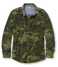 Bradbury Fleece Shirt, Slightly Fitted Print