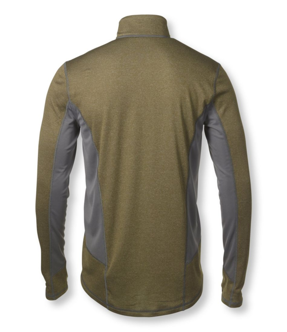 Men's Powerwool T-Zip Base Layer