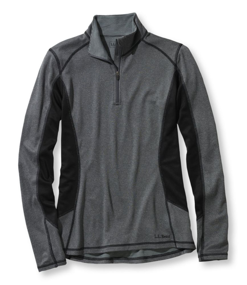 L.L.Bean Powerwool T-Zip Base Layer