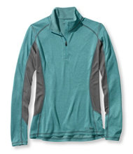 Powerwool Hybrid Base Layer, T-Zip