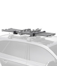 Thule 7324 SnowPack Ski Carrier, 4-Pair