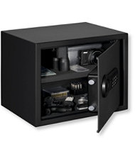 Stack-On Personal Safe with Electronic Lock, Large