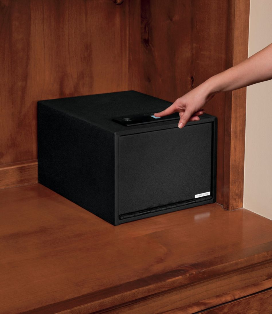 Stack-On Quick-Access Safe with Biometric Lock