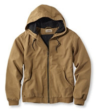 Katahdin Iron Works Hooded Canvas Jacket