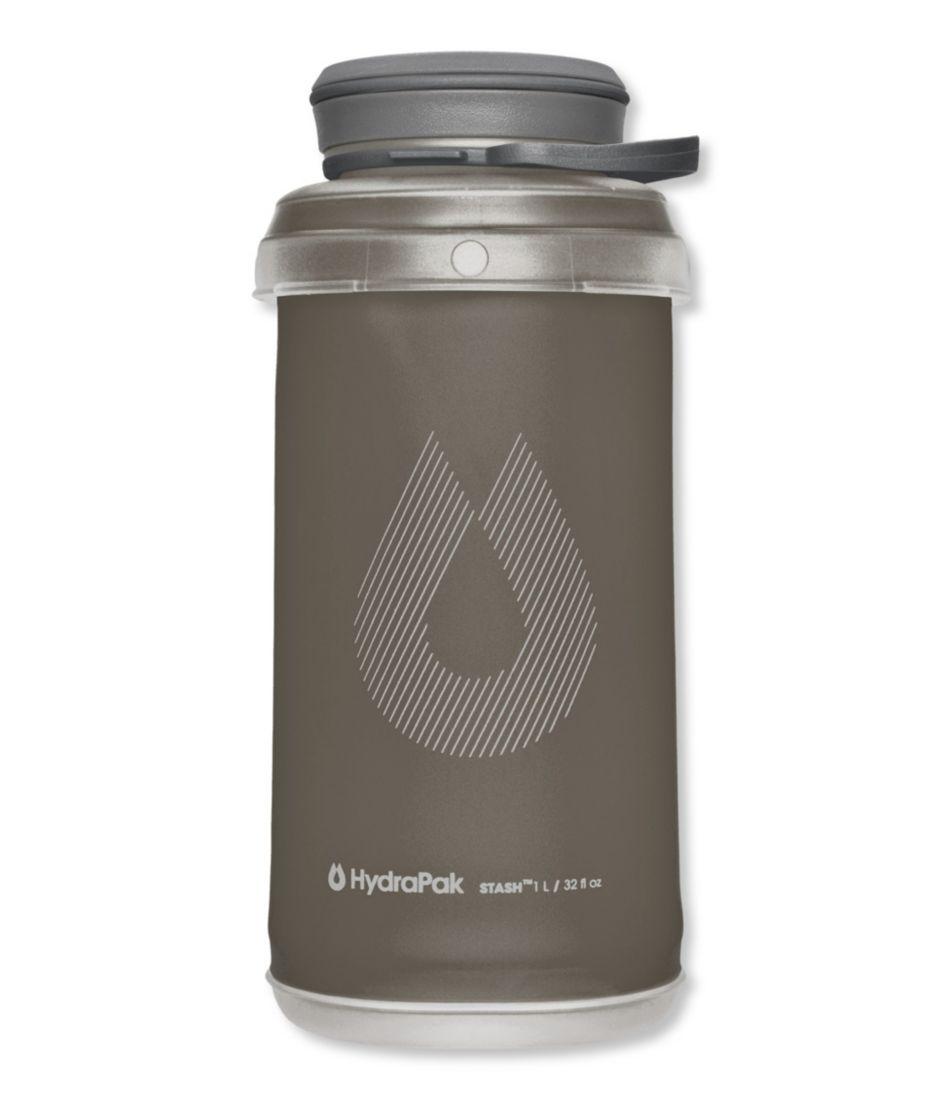 Hydrapak Stash Water Bottle, 1 Liter