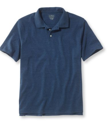 L.L.Bean Interlock-Knit Polo, Short-Sleeve