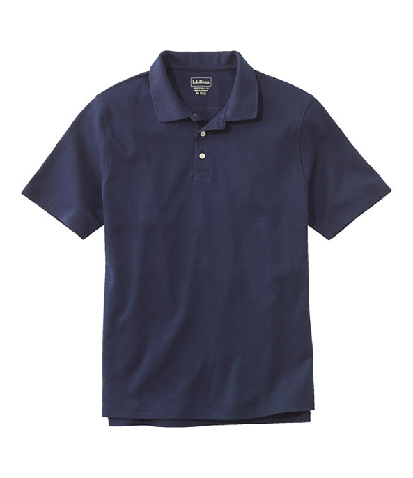 Men's Bean's Interlock Polo, Classic Navy, large image number 0
