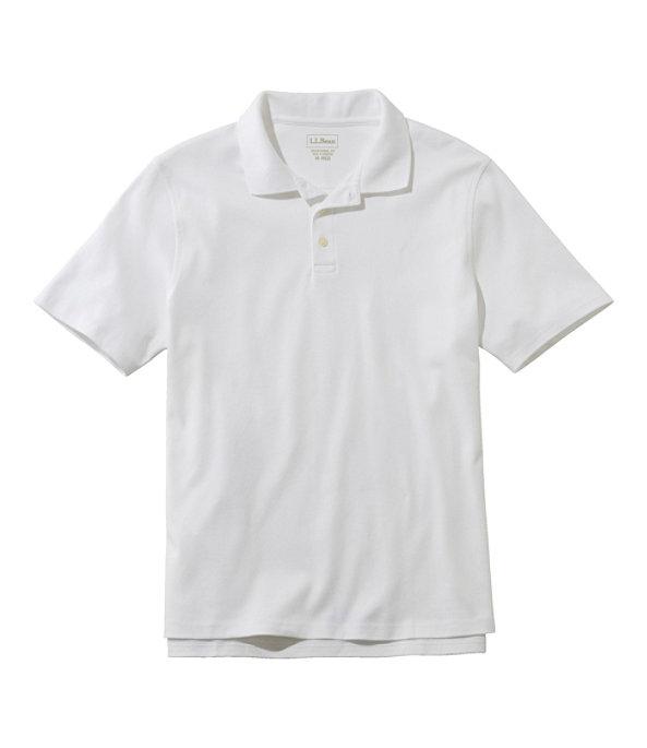 Men's Bean's Interlock Polo, White, large image number 0