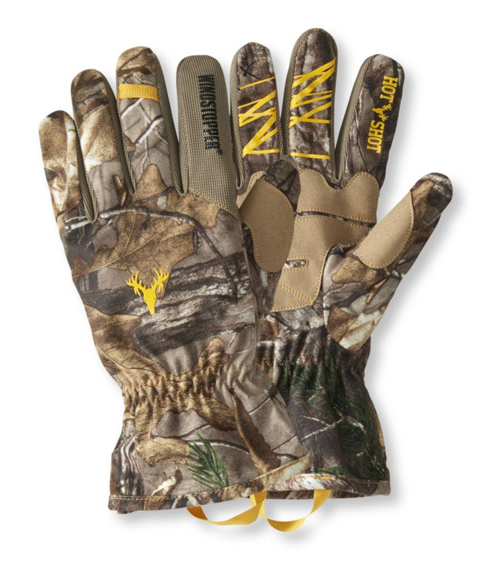Men's Hot Shot Bobcat Windstopper Hunting Gloves