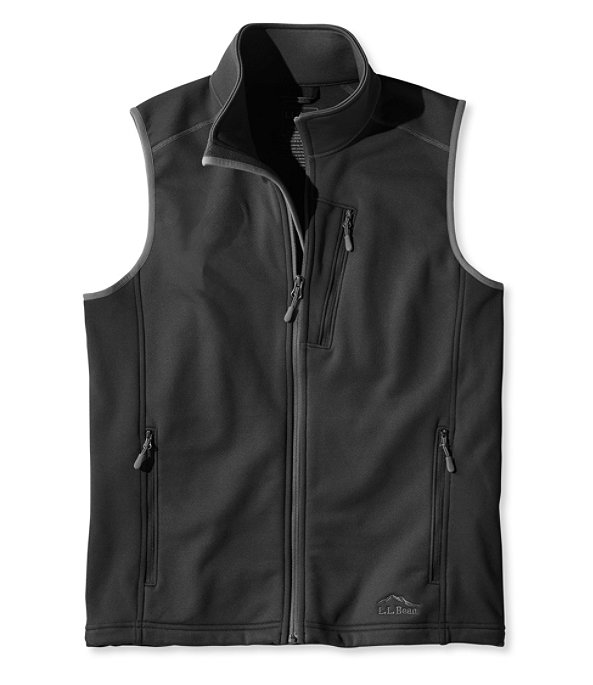 ProStretch Fleece Vest, Black, large image number 0