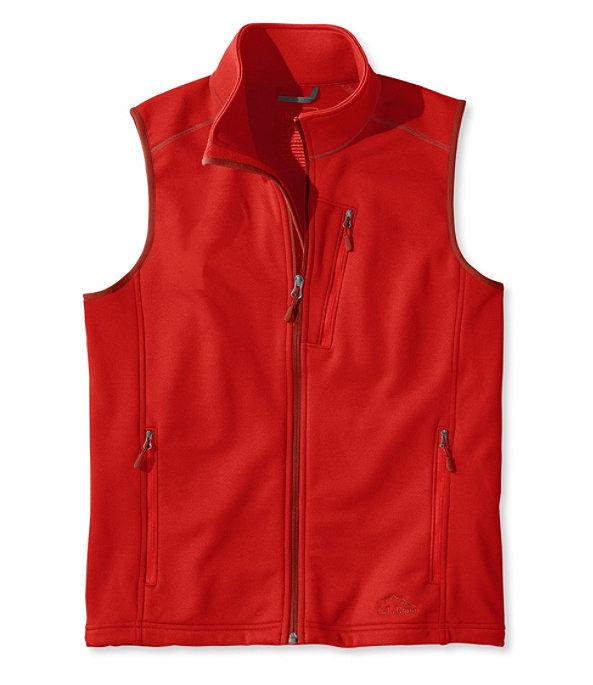 ProStretch Fleece Vest, Dark Red, large image number 0