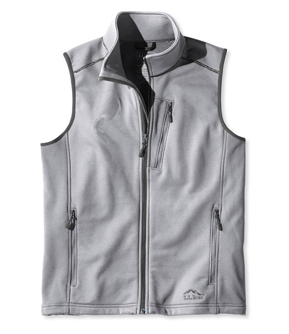 ProStretch Fleece Vest, Quarry Gray, large image number 0