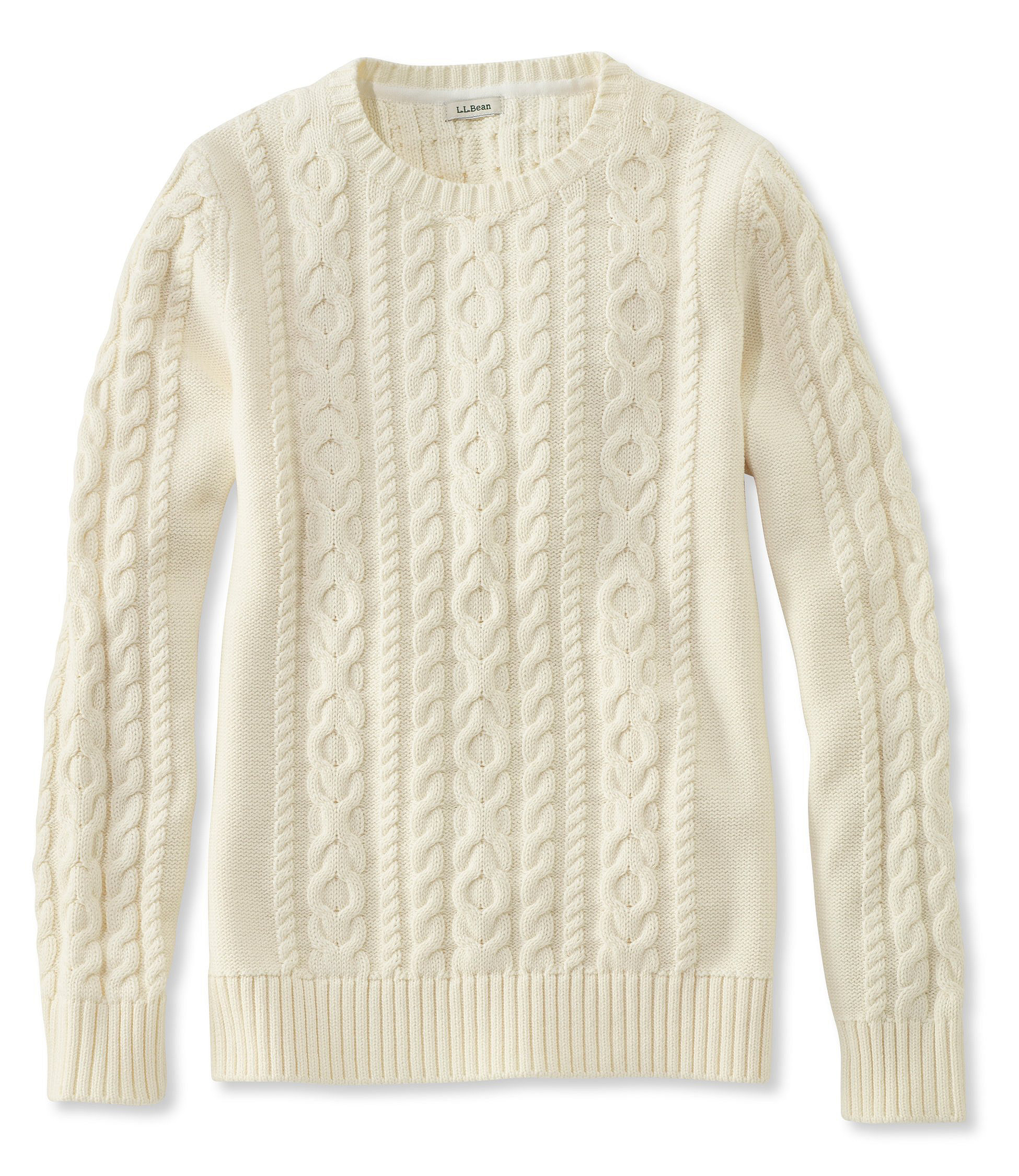Where to Find Your Winter Cable Knits; L.L. Bean