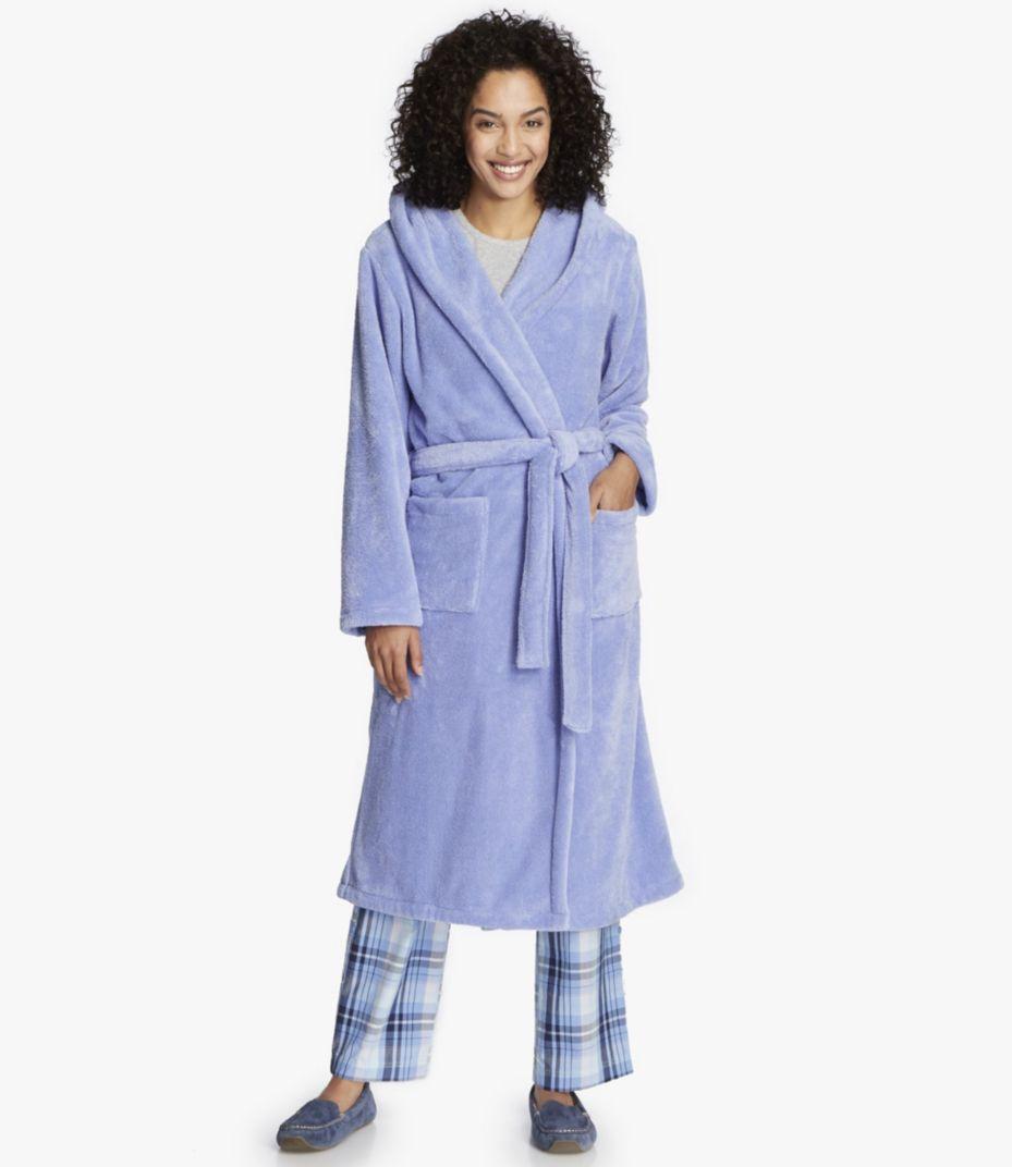 Plush Fleece Hooded Robe f7d2162d4