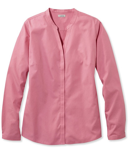 Women 39 S Wrinkle Free Pinpoint Oxford Shirt Long Sleeve