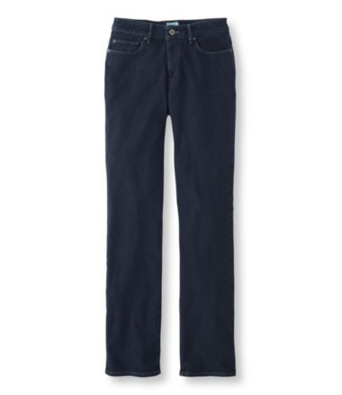Comfort Knit Jeans, Classic Fit Straight-Leg