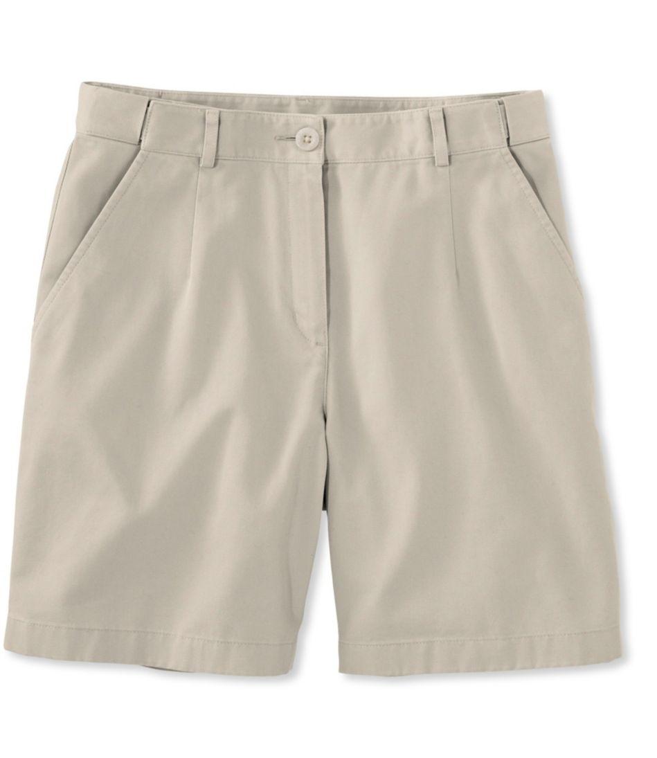 "Wrinkle-Free Bayside Shorts, Classic Fit Hidden Comfort Waist 7"""