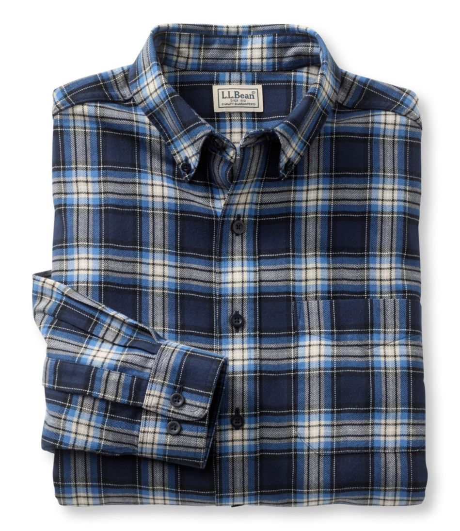 Wicked Good Flannel Shirt, Traditional Fit