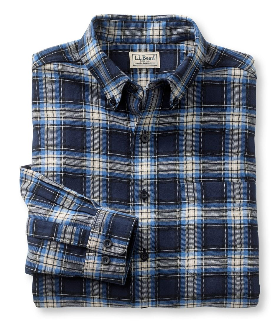 Men's Wicked Good Flannel Shirt, Traditional Fit
