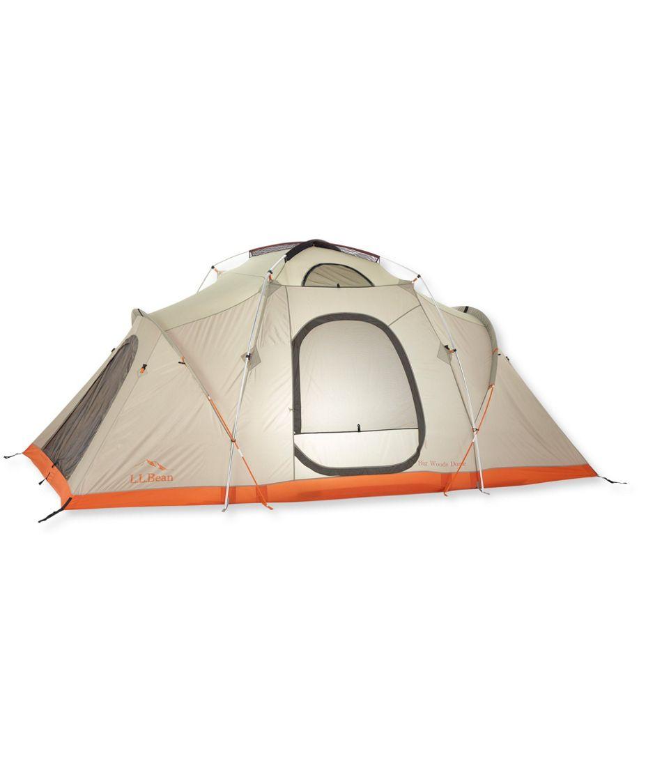L.L.Bean Big Woods 3-Room, 8-Person Dome Tent