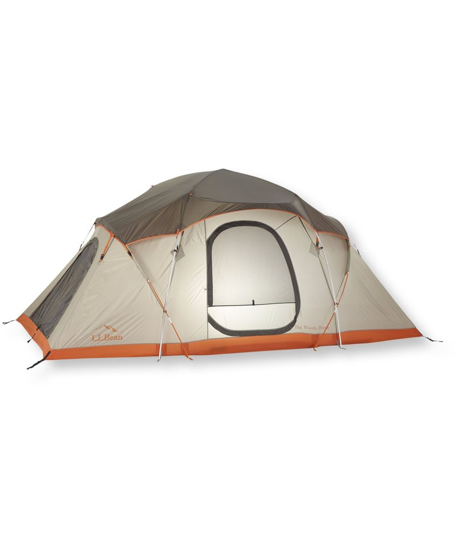 LLBean Big Woods 3 Room 8 Person Dome Tent