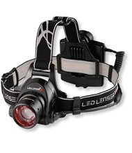 H14R.2 LED Lenser® Rechargeable Headlamp, 850 Lumens
