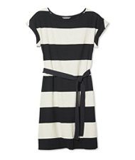 Signature T-Shirt Dress, Stripe