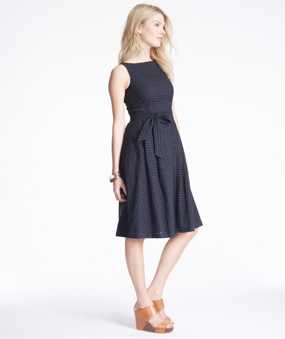 The Signature Eyelet Dress