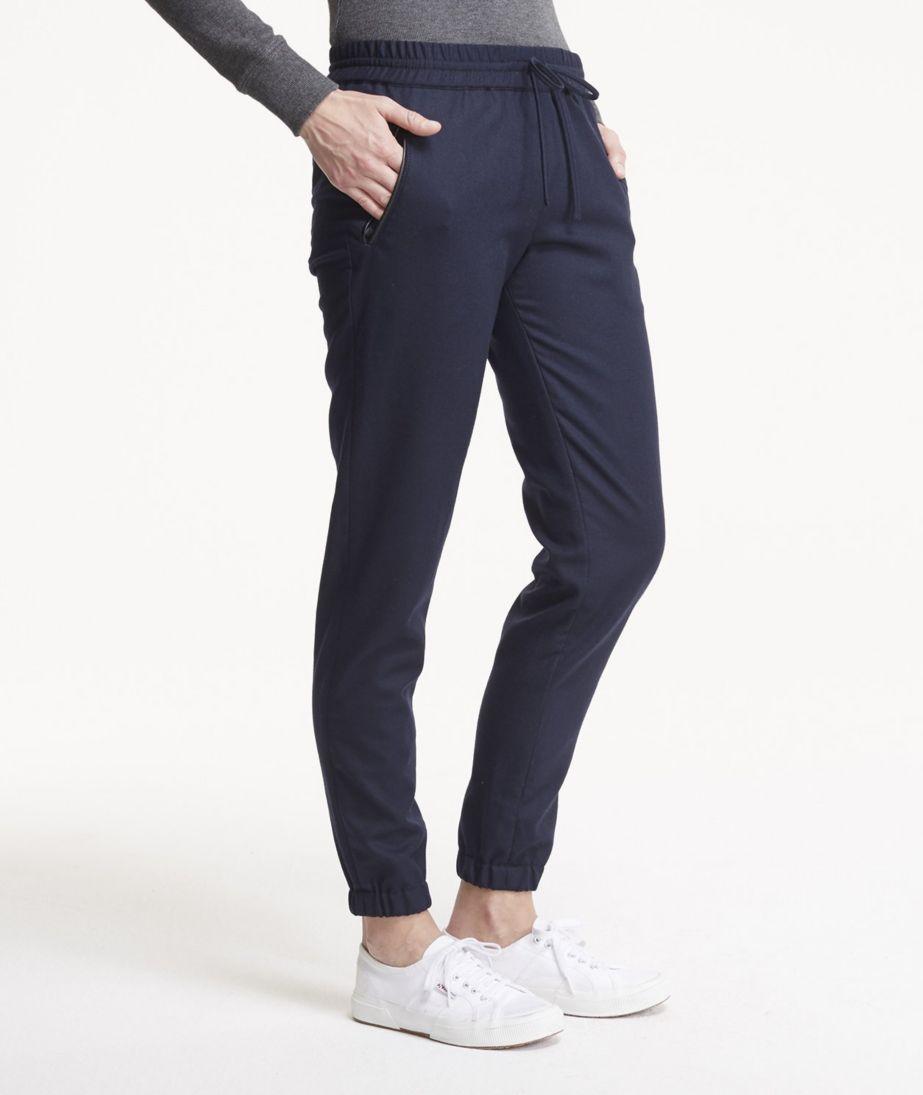 Signature Wool Pull-On Pants
