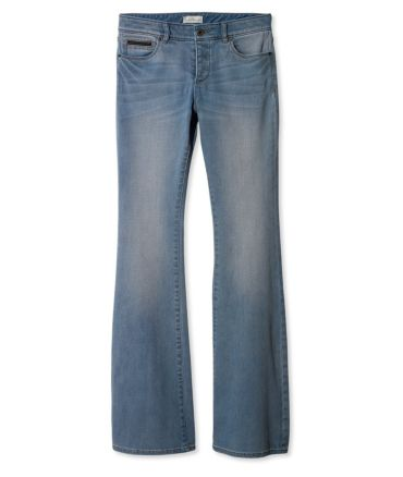 Signature Button-Fly Flare Jeans