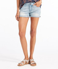 Signature Denim Shorts