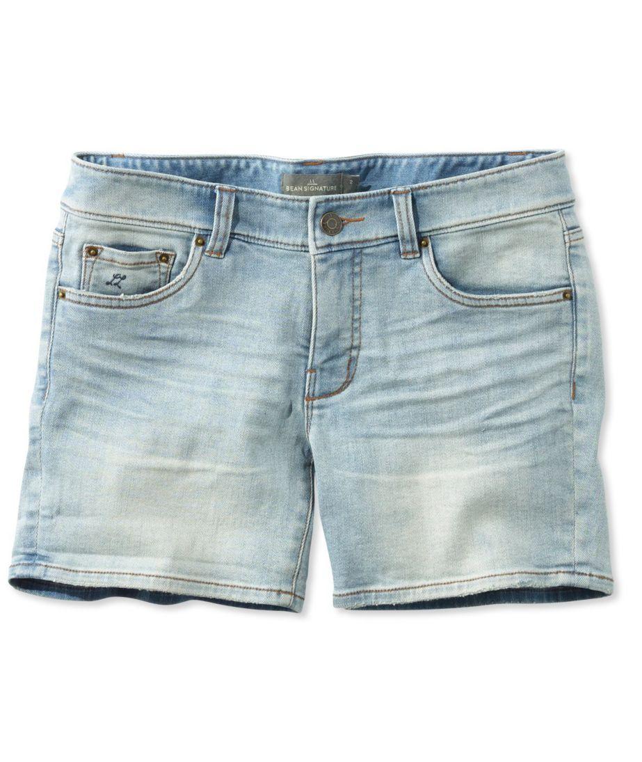 Signature Denim Shorts