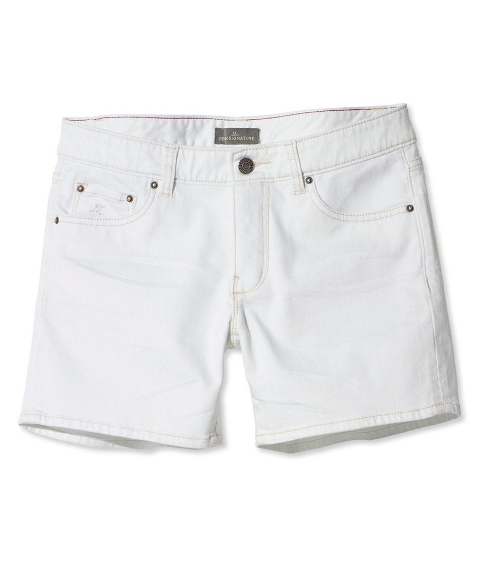 Women's Signature Denim Shorts