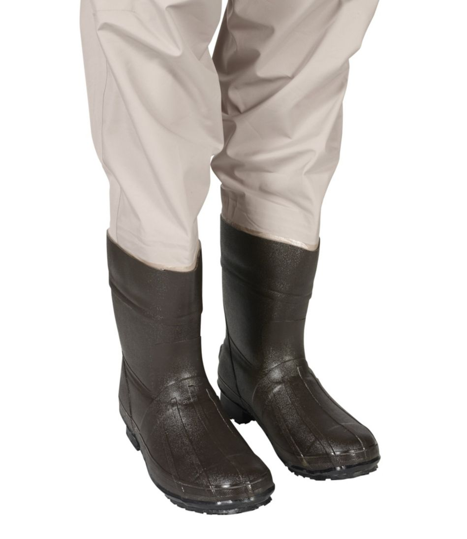 Breathable Emerger Waders with Super Seam Technology, Boot-Foot