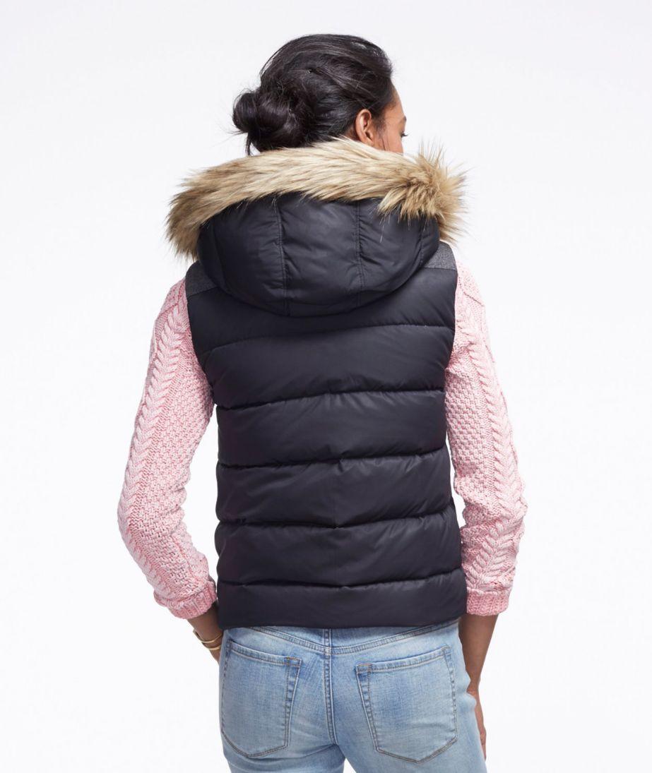 Signature Hooded Puffer Vest