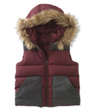 Signature Hooded Puffer Vest
