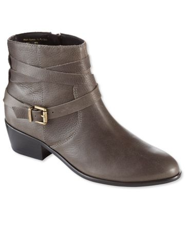 Signature Mid-Heel Ankle Booties