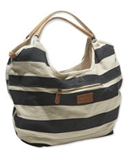 Signature Summer Canvas Tote, Stripe