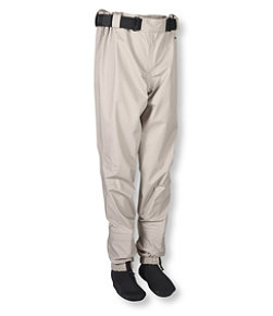 Men's Breathable Emerger Waders with Super Seam Technology, Stocking-Foot High-Waist