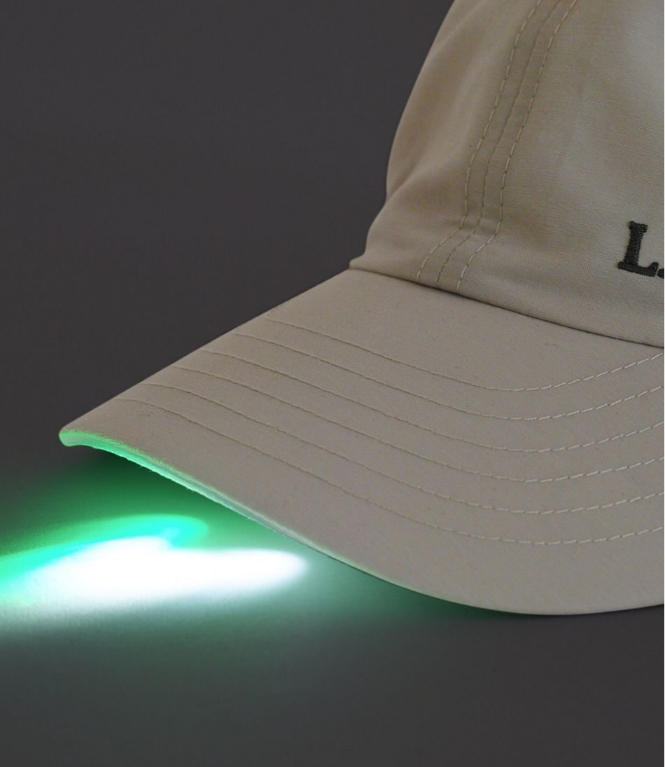 No Fly Zone 6-LED Fishing Cap