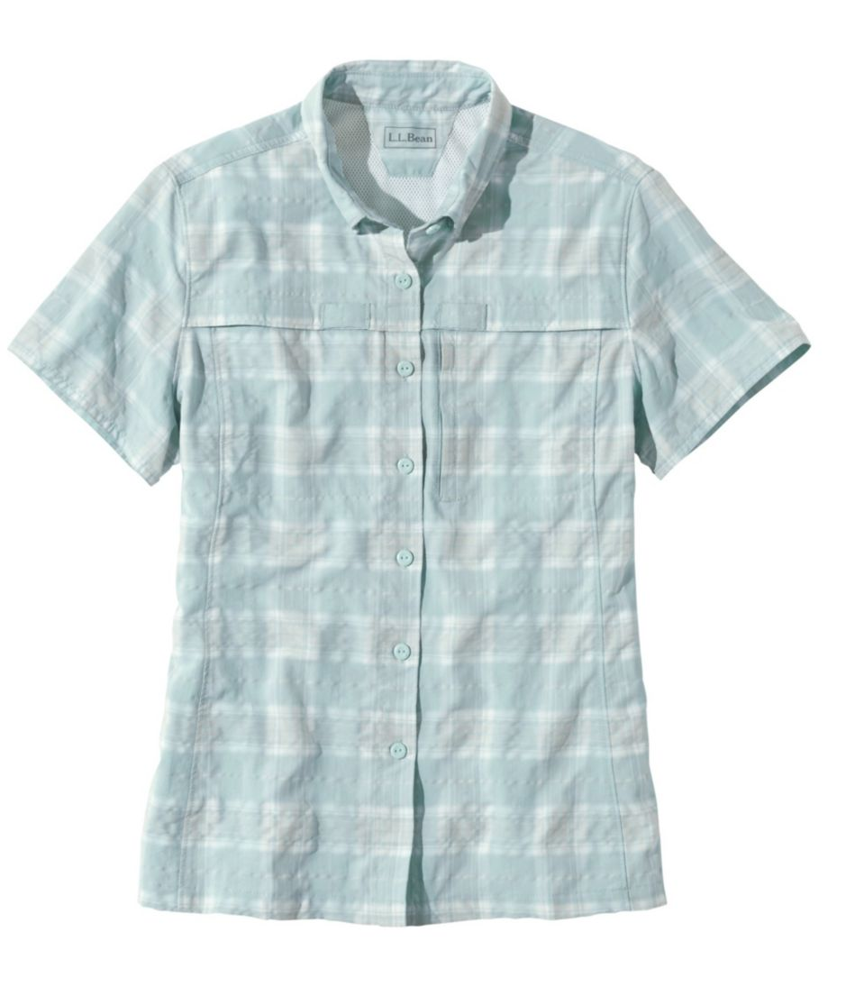 Tropicwear Shirt, Plaid Short-Sleeve