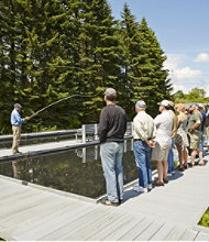 Introduction to Fly-Fishing Course at L.L.Bean's Private Pond in Freeport, Maine