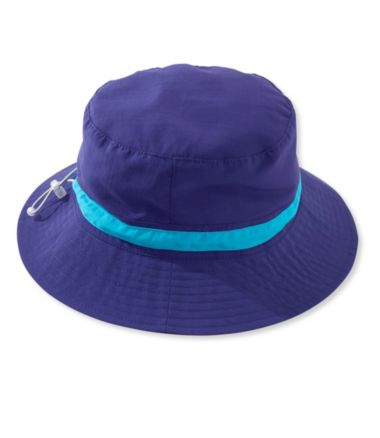 BeanSport Packable UPF Sun Hat, Colorblock