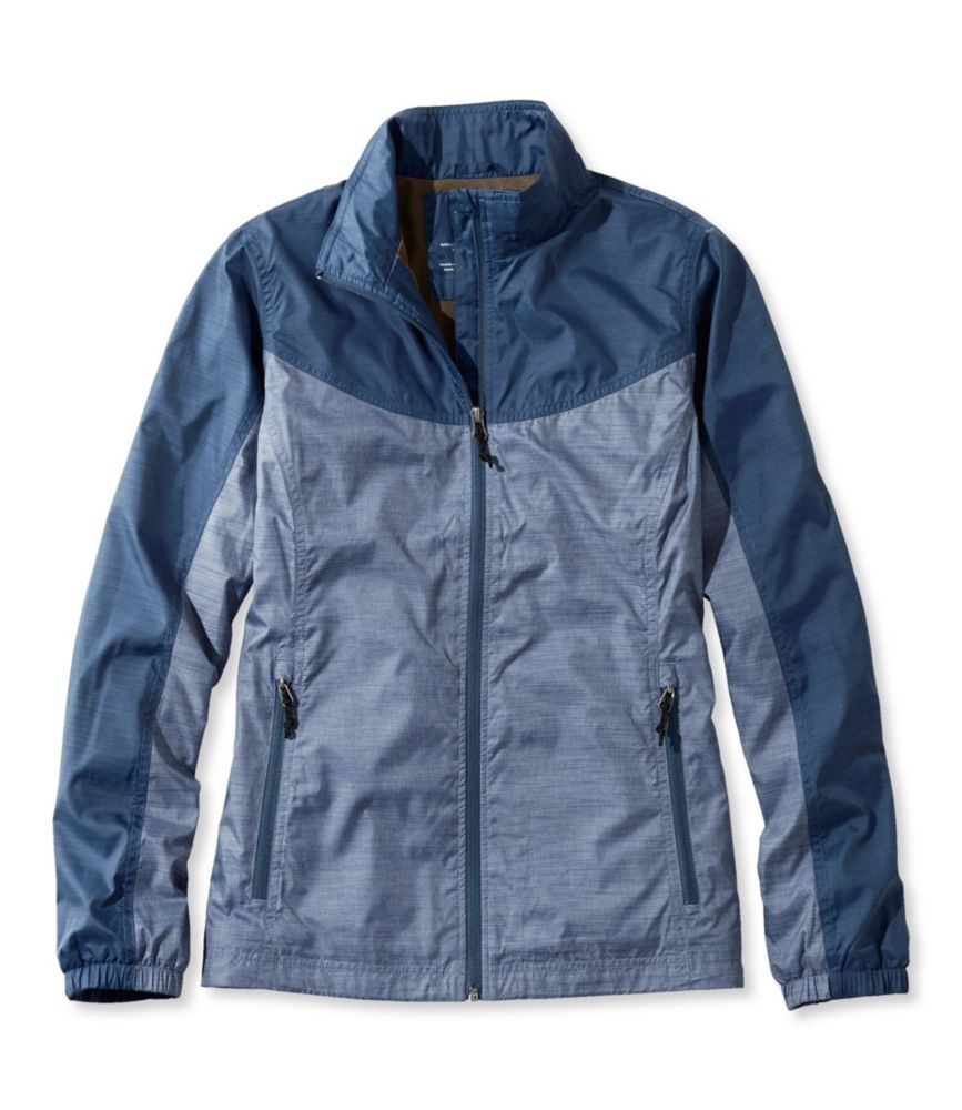 photo: L.L.Bean Women's Casco Bay Windbreaker Jacket