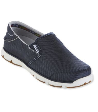 Portlander Free-Flex Boat Shoes, Mesh Slip-On