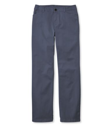 Lakewashed Straight-Leg Pants