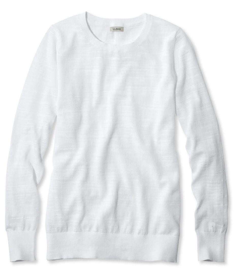 Cotton Slub Sweater, Pullover