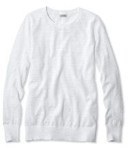 Cotton Slub Sweater, Pullover