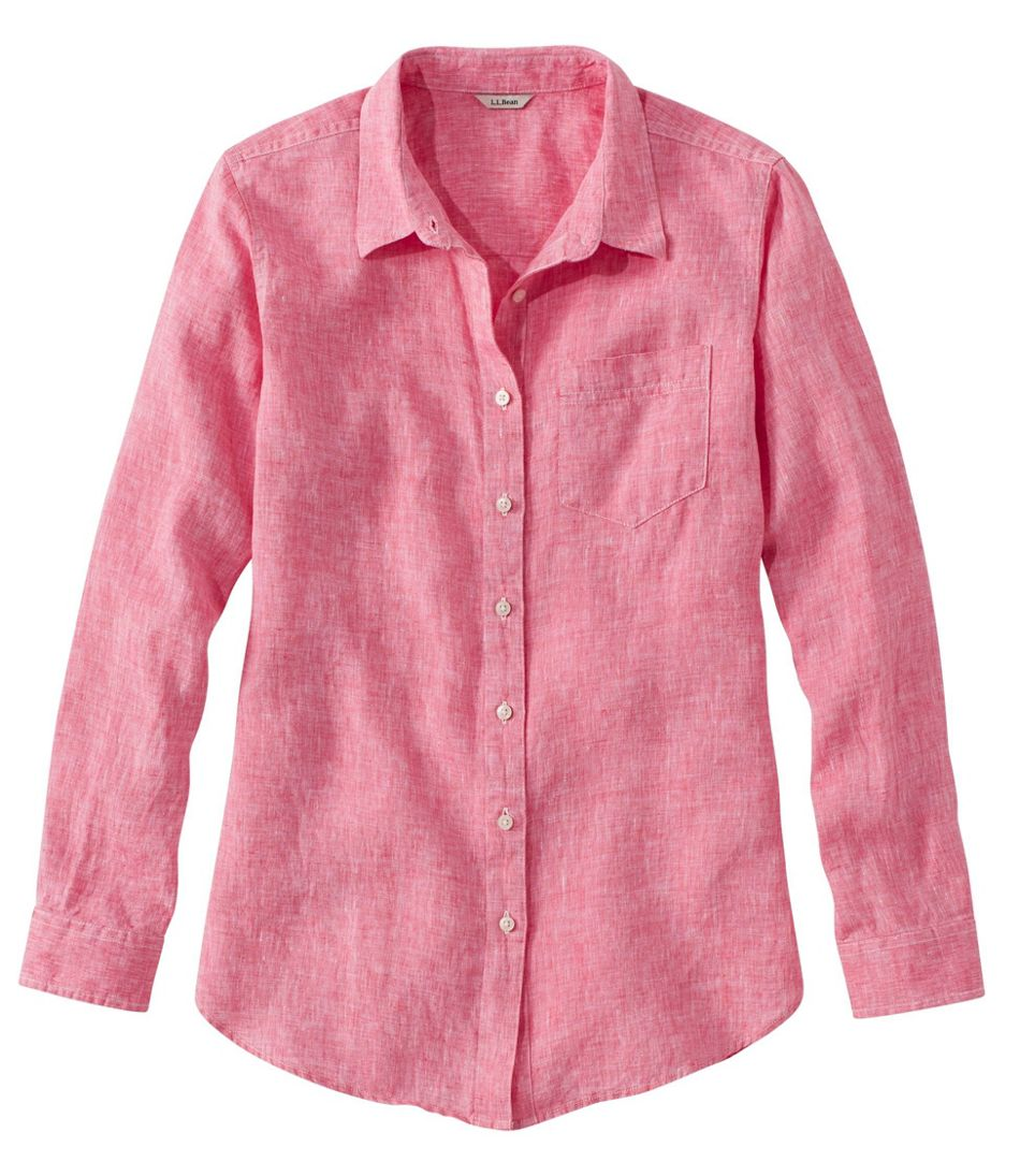 Women's Premium Washable Linen Shirt, Tunic