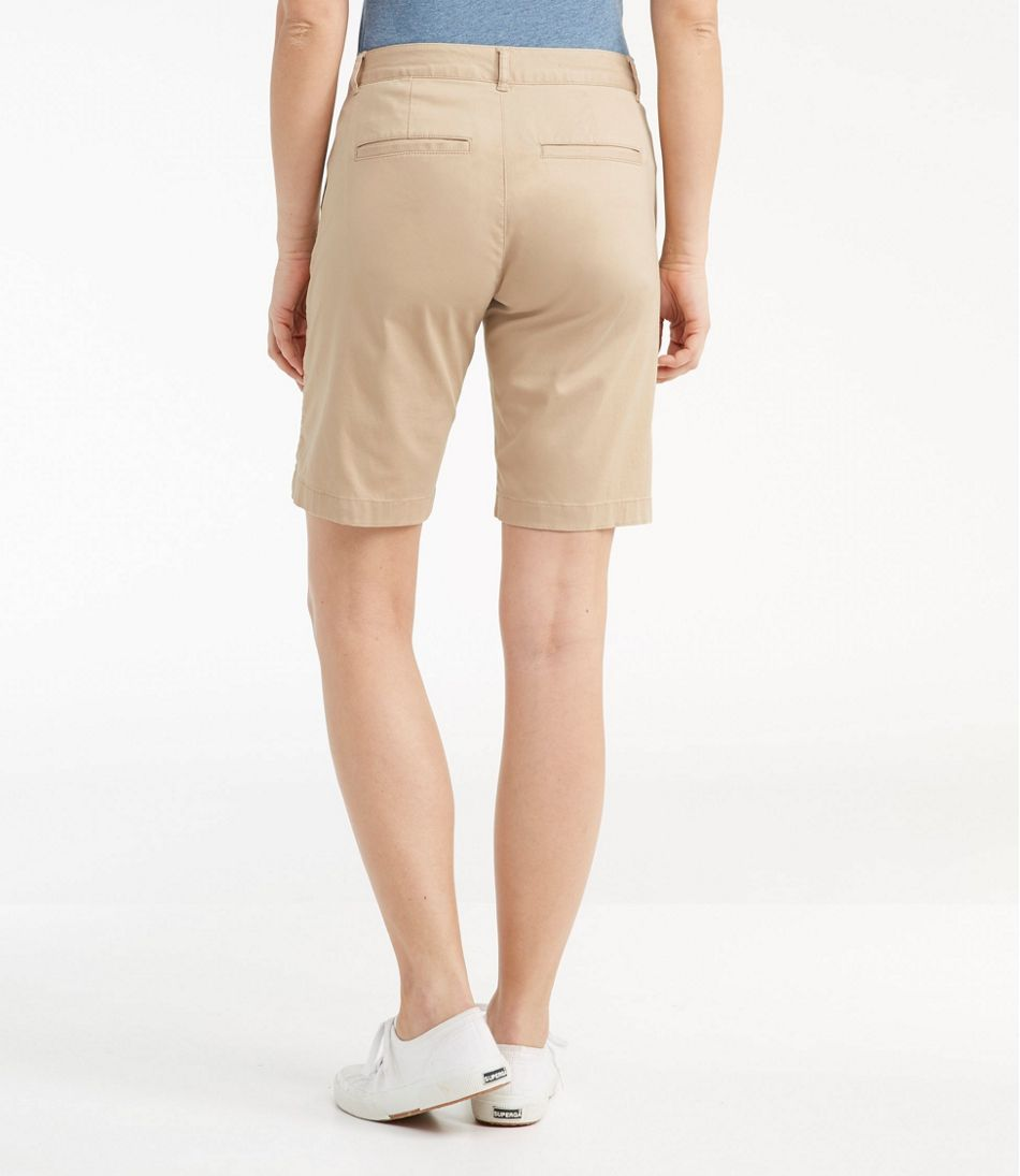 Washed Chino Bermuda Shorts
